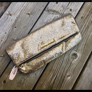 Gold Victoria's Secret clutch